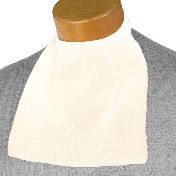 Turtleneck Style Stoma Cover (White)